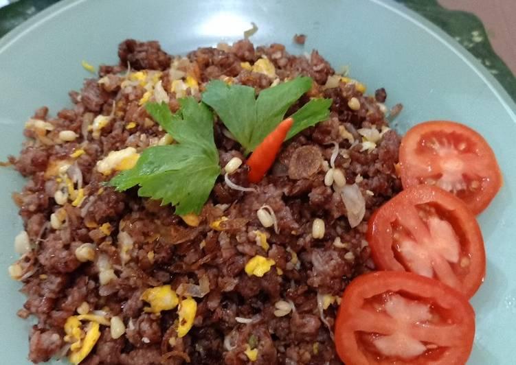 Nasi Goreng Beras Merah