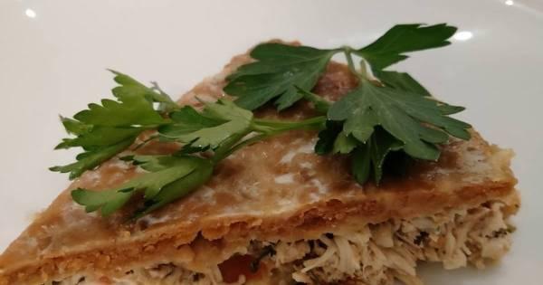 Французский киш с курицей и грибами - пошаговый рецепт с ...