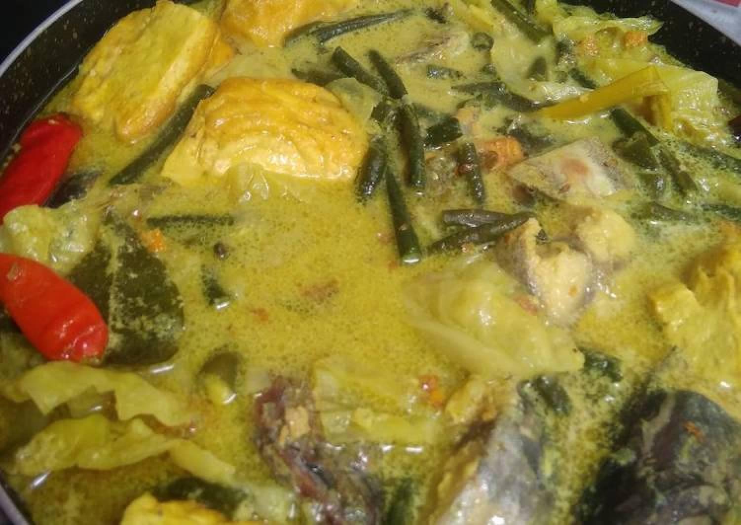 Resep Gulai Tongkol Tahu Kol Kacang Panjang Yang Lezat Best Recipes