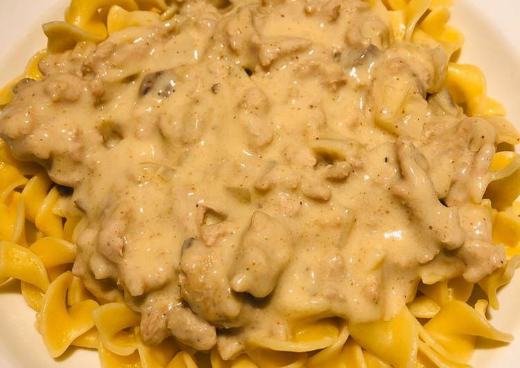 Ground Turkey 🦃 Stroganoff