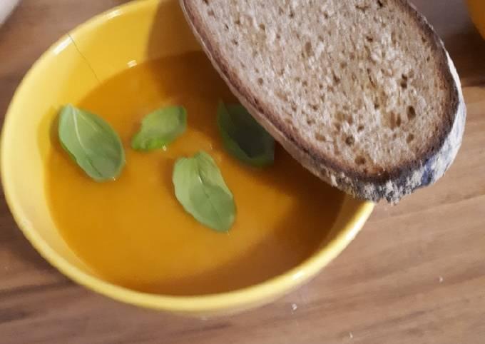Rezept Um Hausgemachte Kürbissuppe zuzubereiten