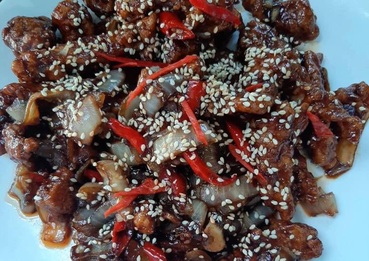 Resep Ayam Goreng Tepung Saus Teriyaki Yang Bisa Manjain Lidah Best Recipes