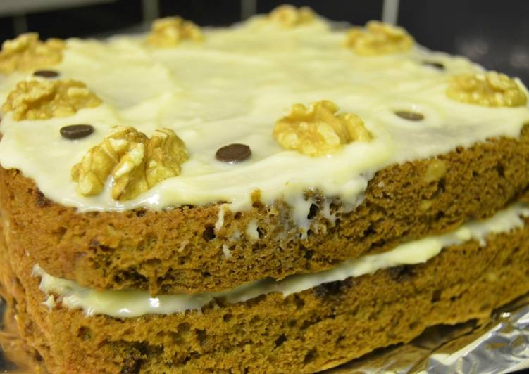 Simple Way to Prepare Ultimate Walnut and Coffee cake