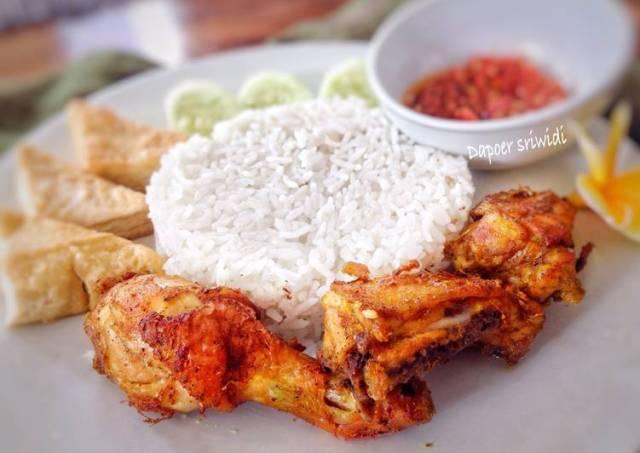Ayam goreng bumbu padang (#postingrame2_ayam)