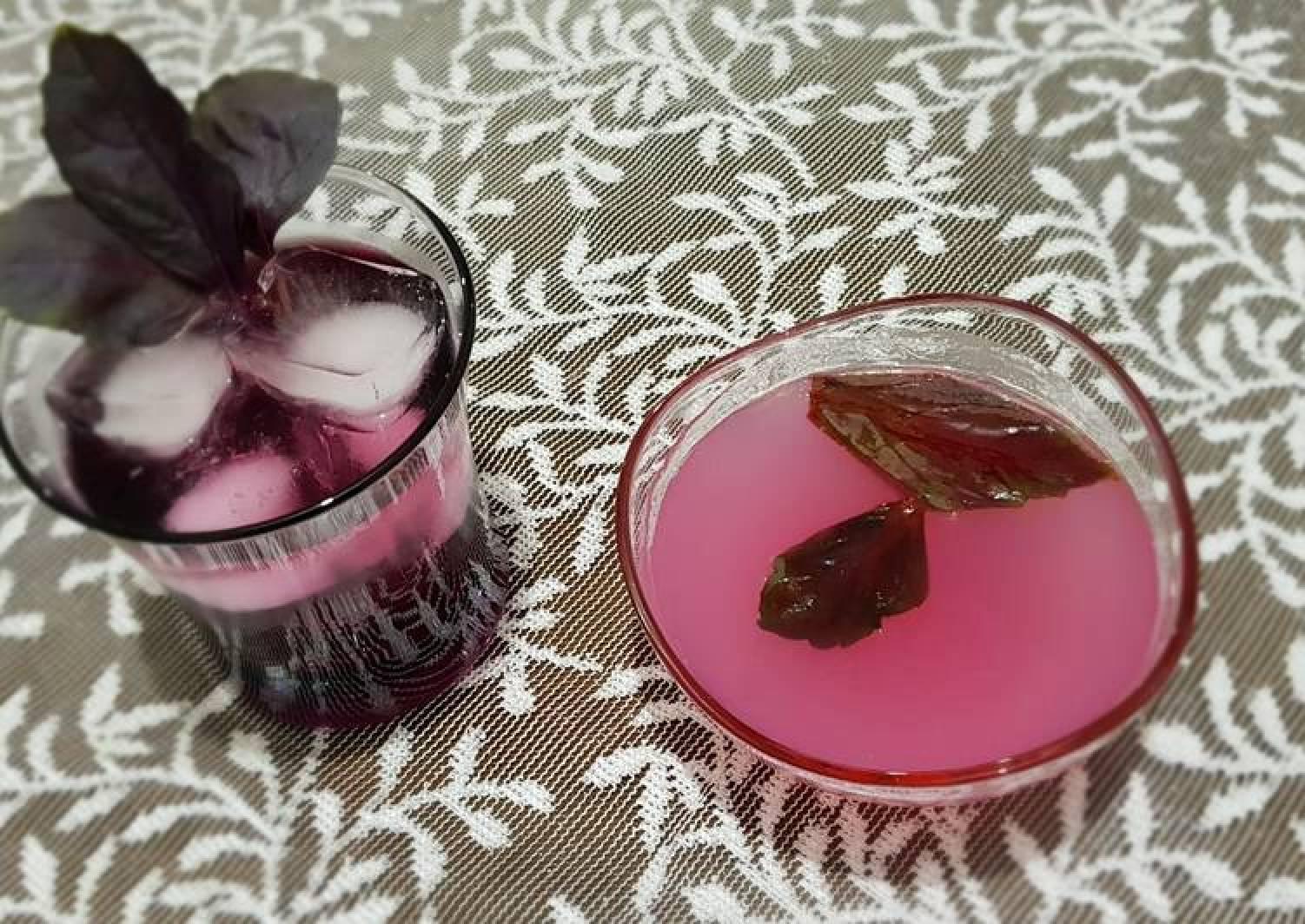 Basil sherbet & jelly #mycookbook