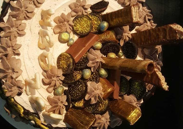 Recipe of Quick Chocolate overloaded cake | Chocolate cake