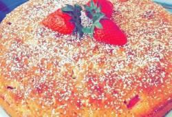 Recipe Strawberry shortcake coffee cake Delicious