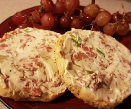 Recipe: Tasty Cheese ball bagel