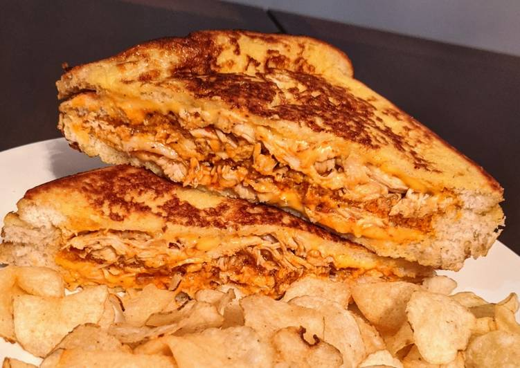 Piri Piri chicken/cheese Monte Cristo