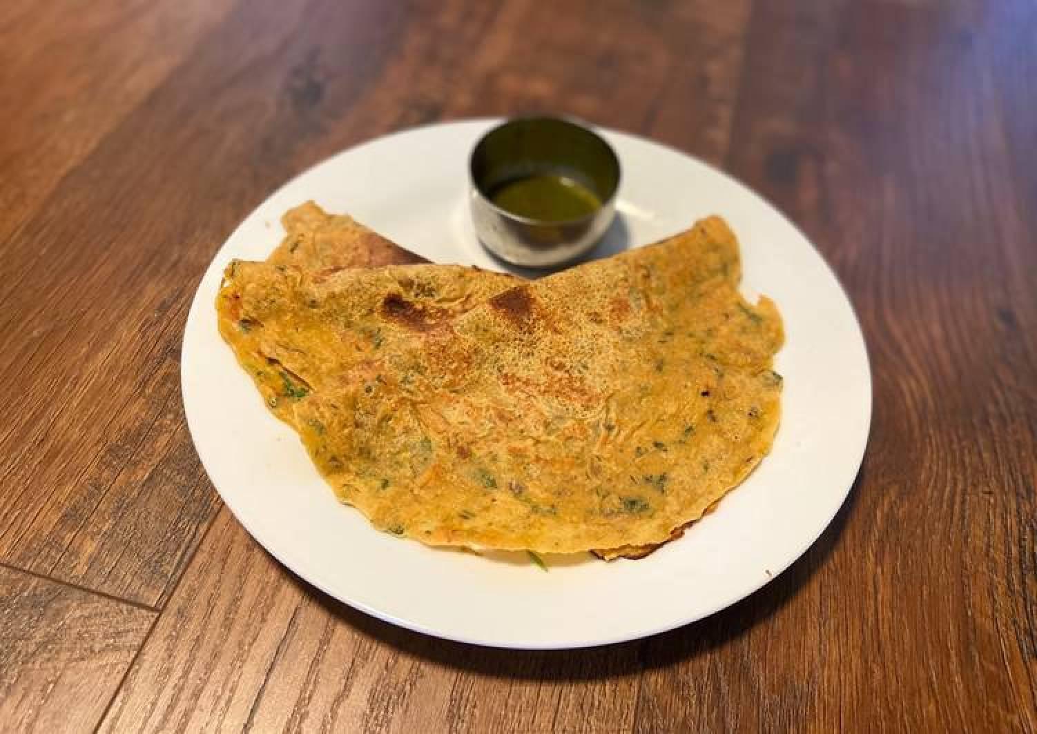 Vegan Chilla/ Chickpea flour pancake