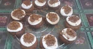 Smores Cookie Cupcakes