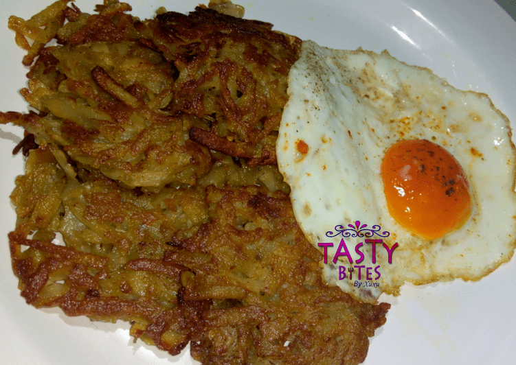 Recipe of Super Quick Homemade Hash brown