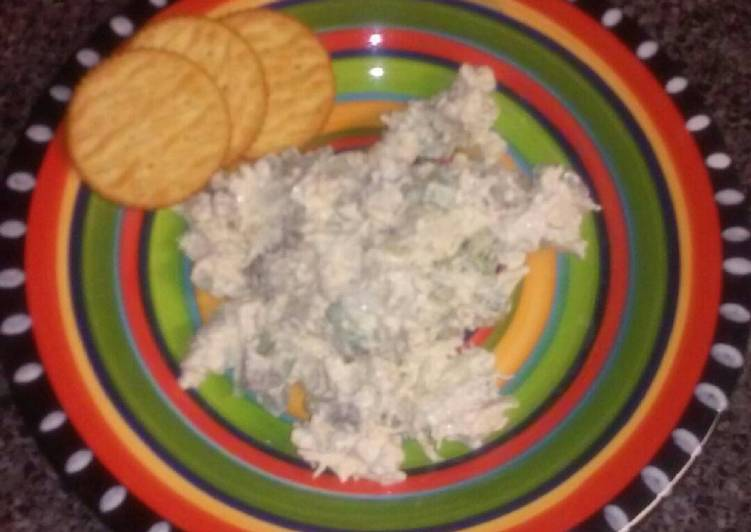 Simple Way to Make Super Quick Homemade Chicken salad with grapes