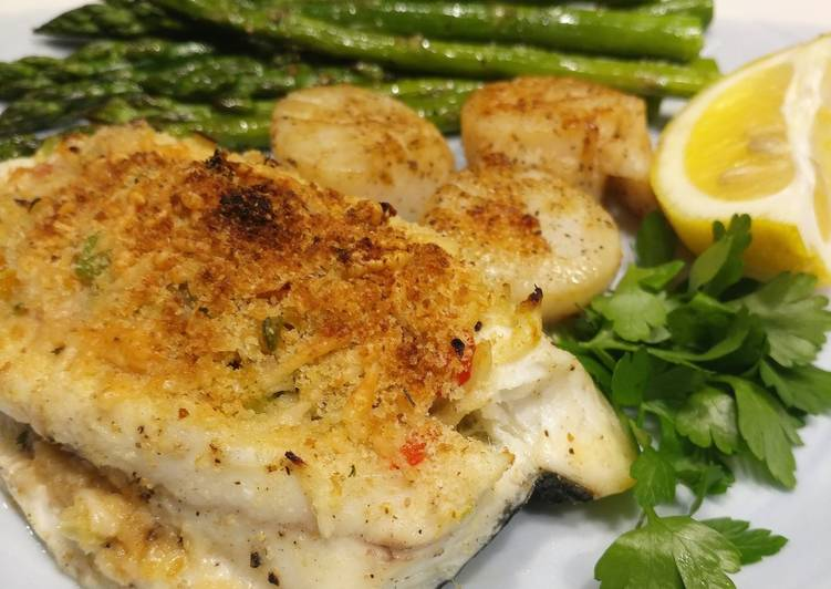 Stuffed Flounder Fillets