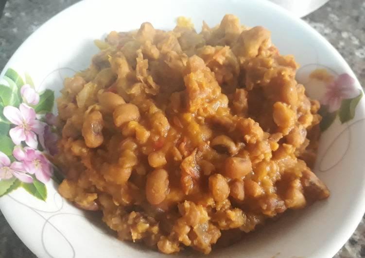 Recipe of Super Quick Homemade Porriage beans