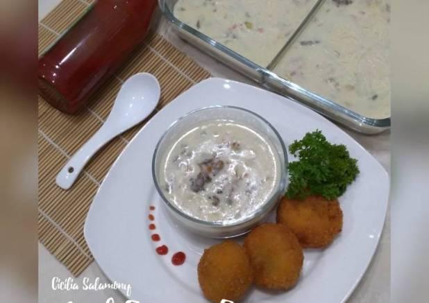 Beef Cream Soup