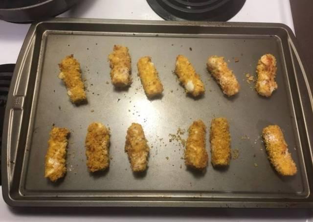Doritos Crushed Mozzarella Sticks