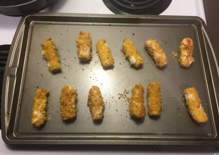 Doritos Crushed Mozzarella Sticks