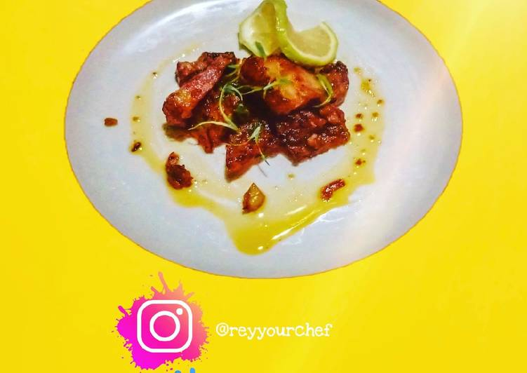 Pork Adobar with Lemon