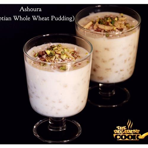 ASHOURA (An Egyptian Dessert)
