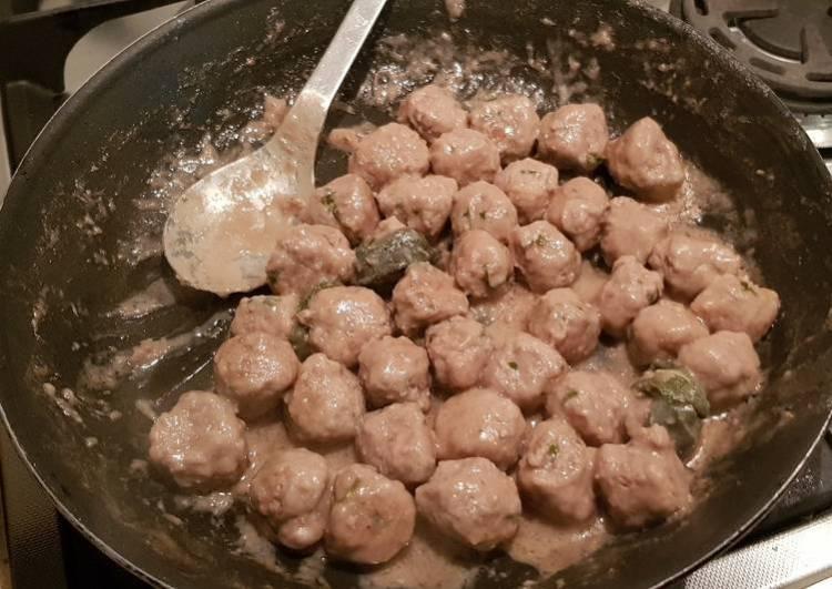 Italian meatballs aka Polpette