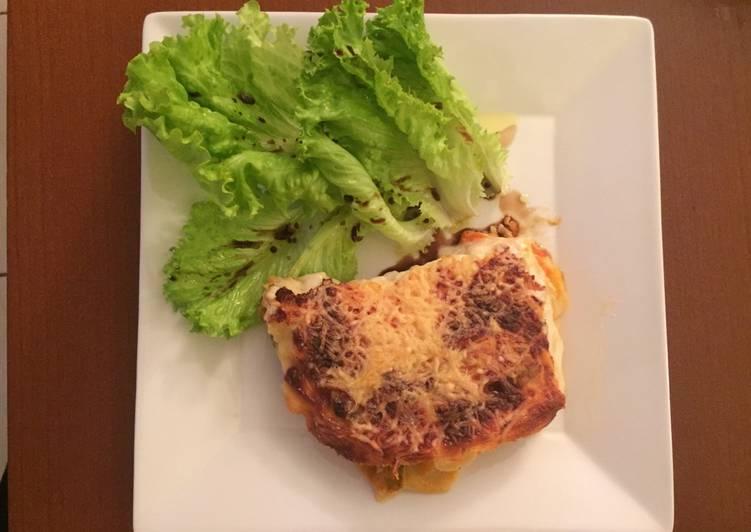 Lasagnes aux aubergines et légumes du soleil