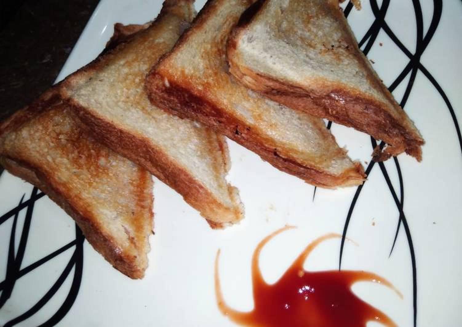 Curd toast