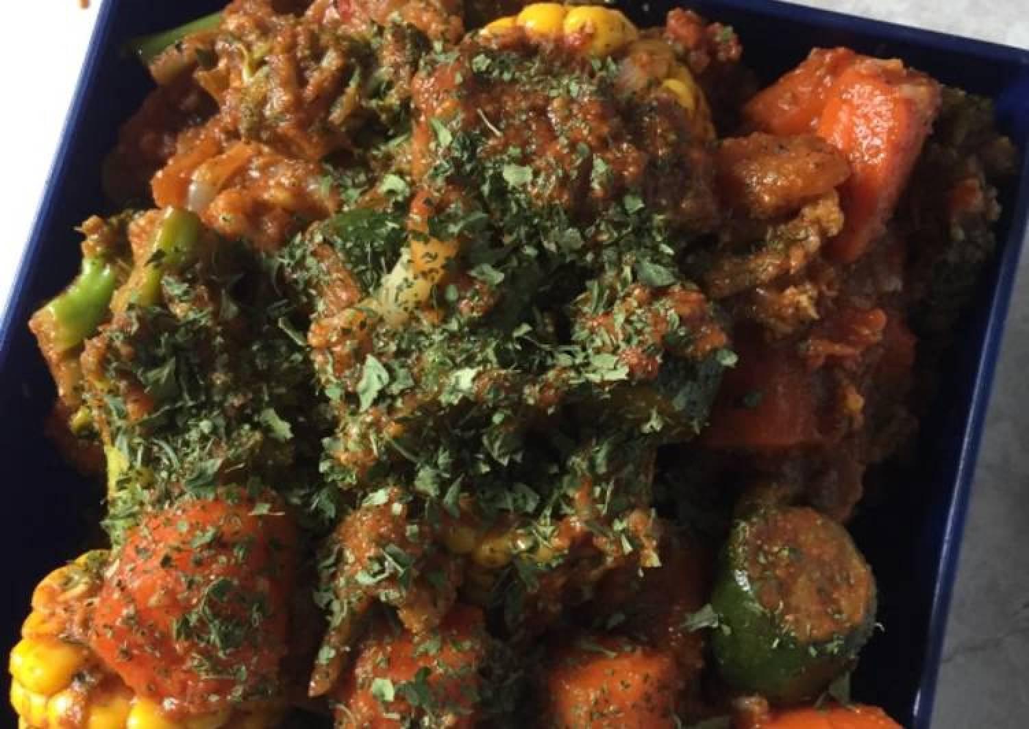 Mild vegetable curry