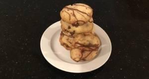 Peppermint Chip Shortbread Cookies