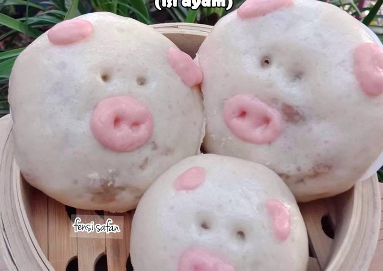 Bakpao Karakter (Piggy Pao)