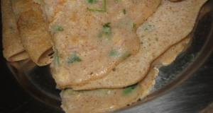 Tri-grain Dosa - Wheat Millet and Oats