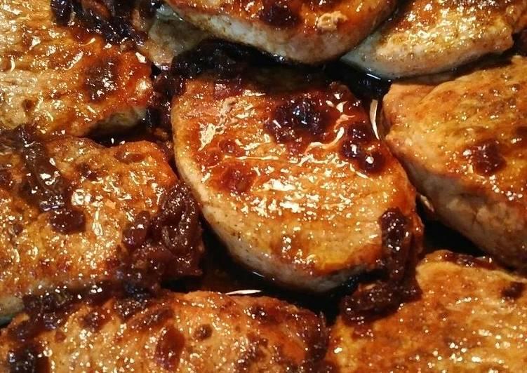 Pork/ Lamb Loin in a Buttery Date Sauce