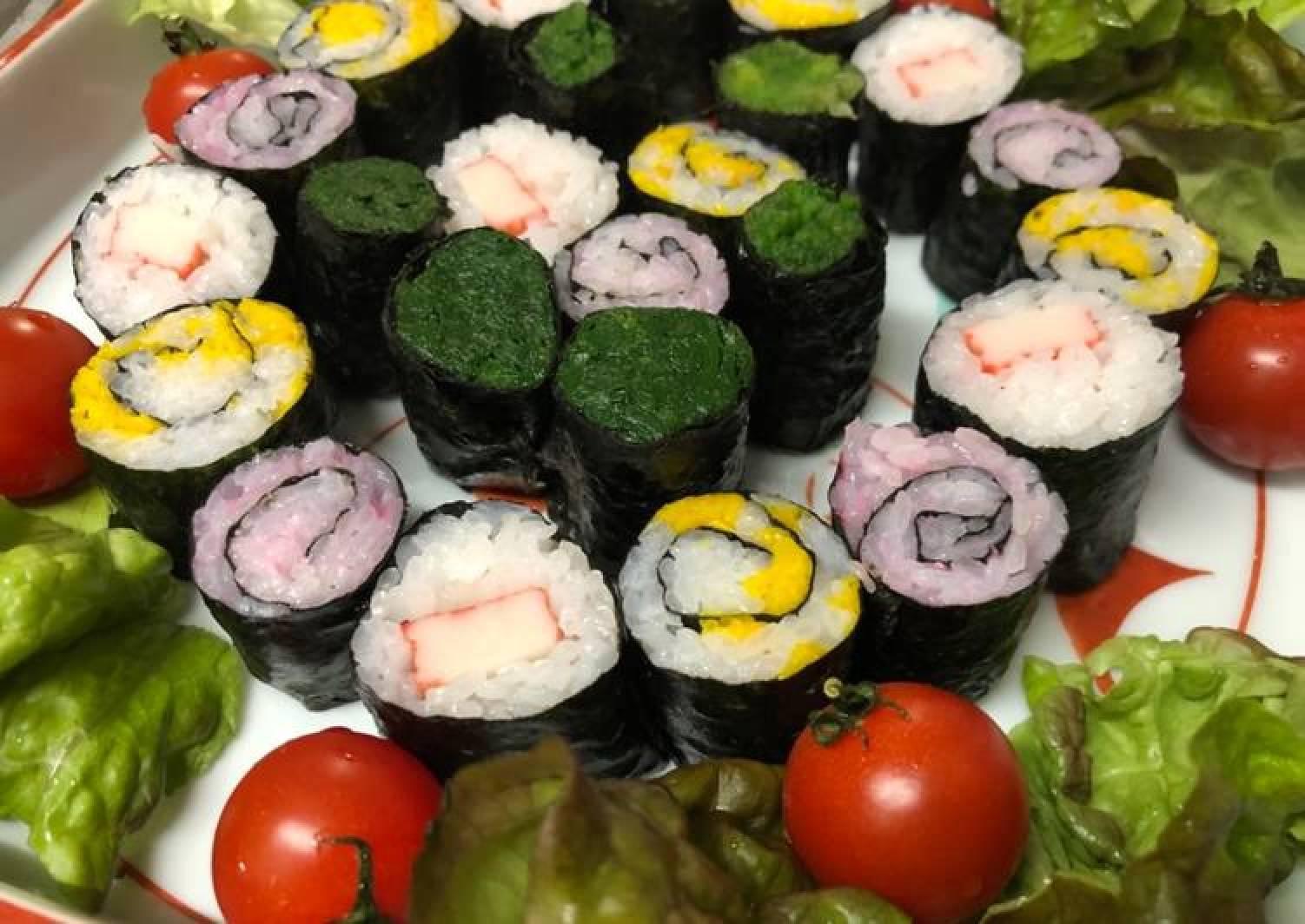 Chrysanthemums Sushi