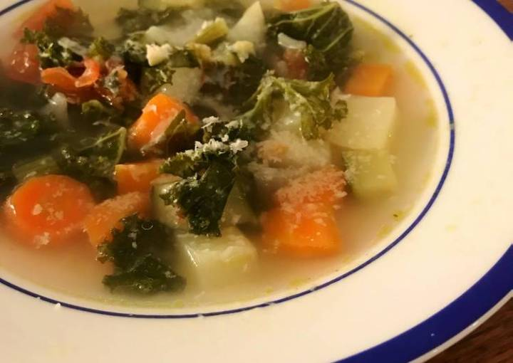 ☆Basic☆ The simplest vege soup, minestrone