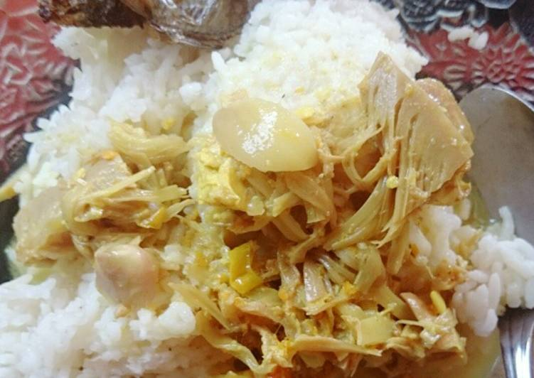 Lodeh Tewel bumbu soto