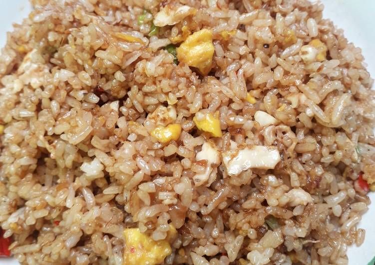 Nasi Goreng Telur Cepat Nikmat