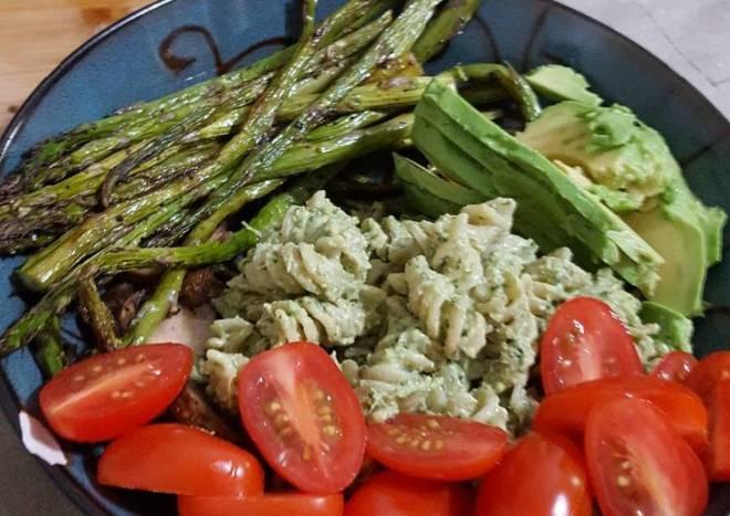 Vegan Pesto and Roasted Vegetables
