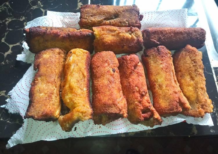 Bread sausage roll