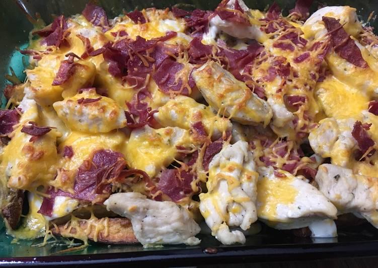 B.R.C. Cheese Fries