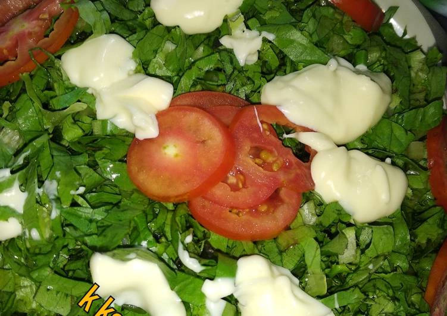Lettuce salad 1
