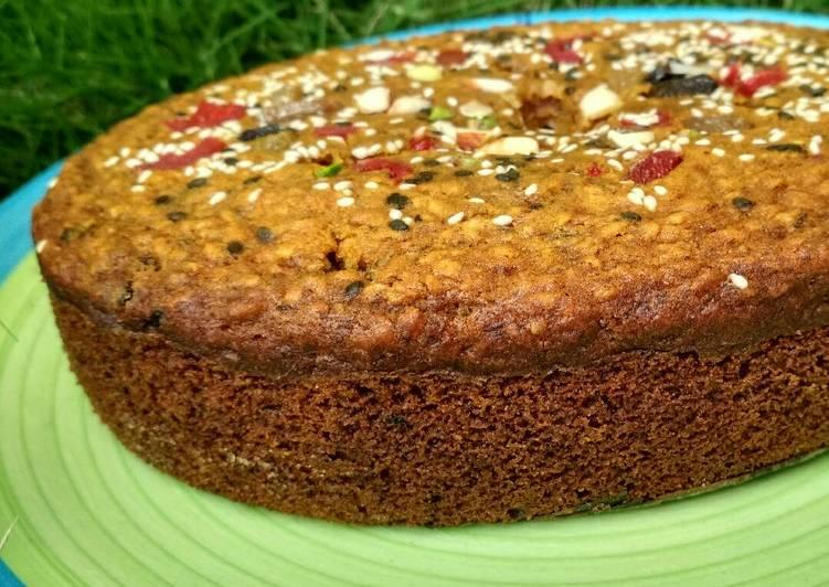 Oats Date Cake