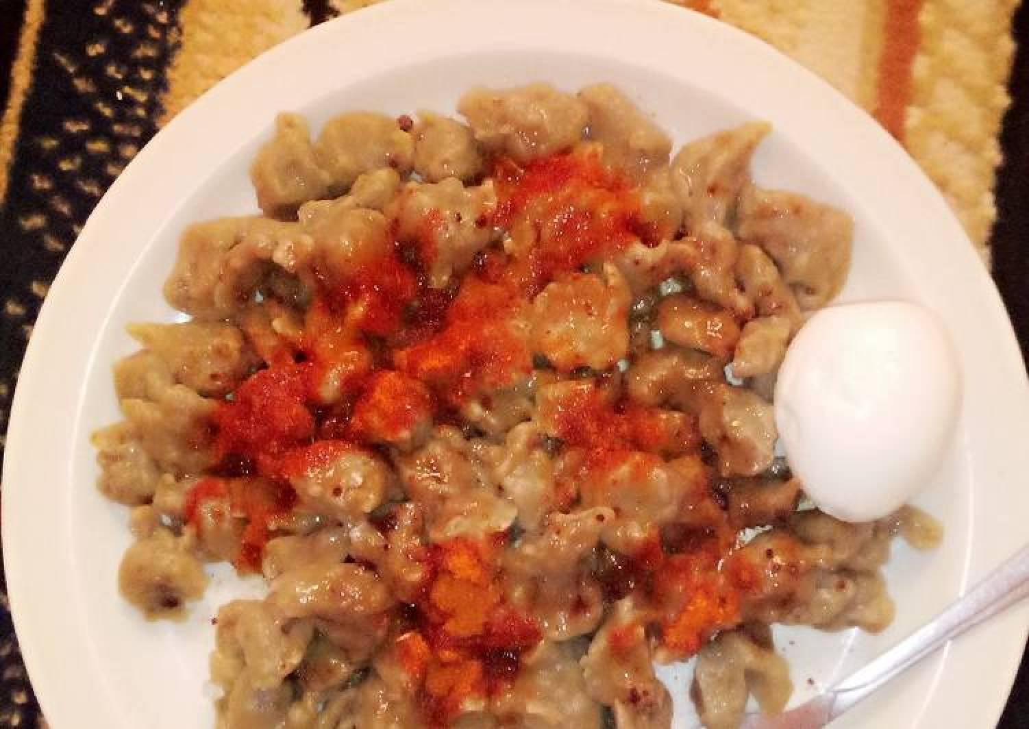 Flour dumplings