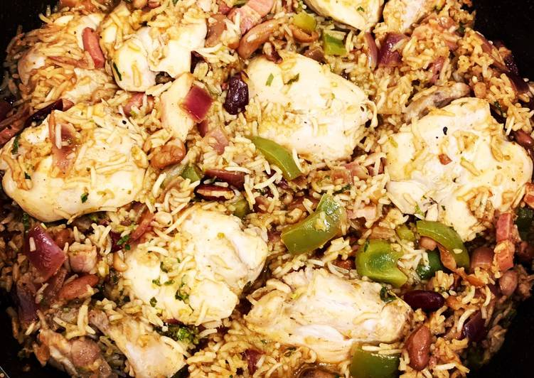 Cuban Chicken  Rice