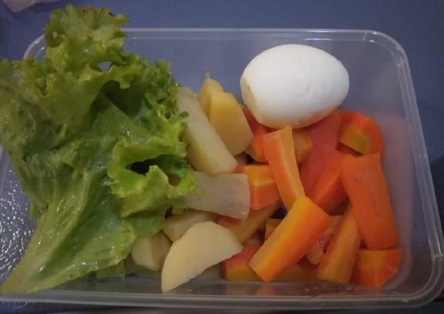 Bekal makan siang simpel dan sehat