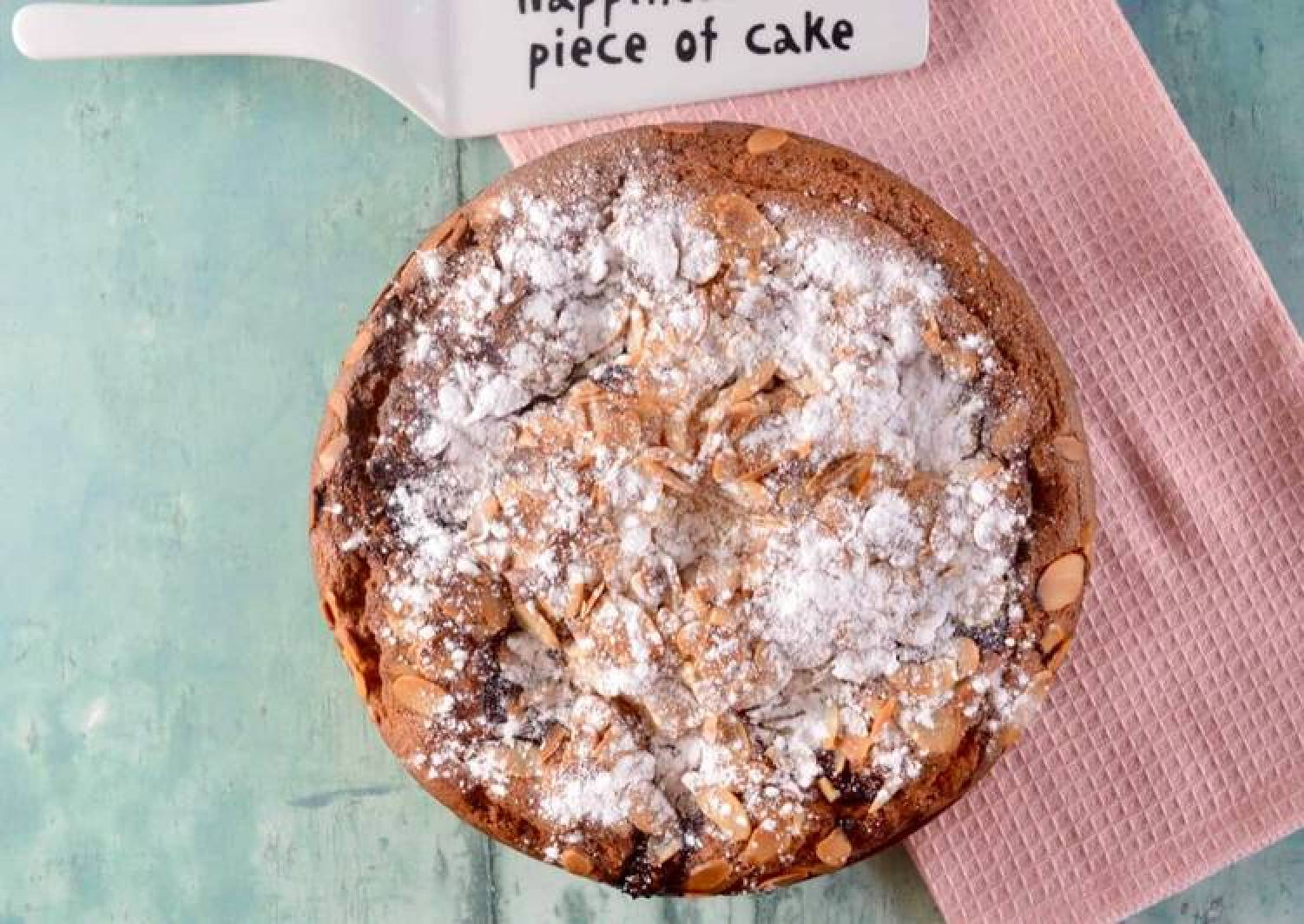 Raspberry Bakewell Cake