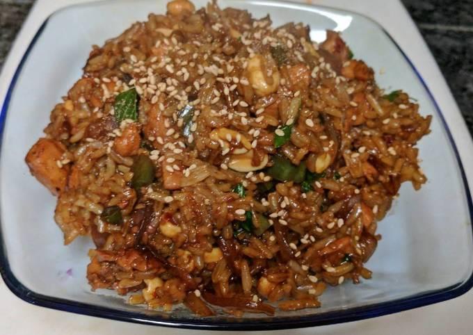 Recipe of Bobby Flay Thai Basil Chicken and Rice