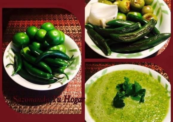 Salsa Verde Asada👌🏻👌🏻