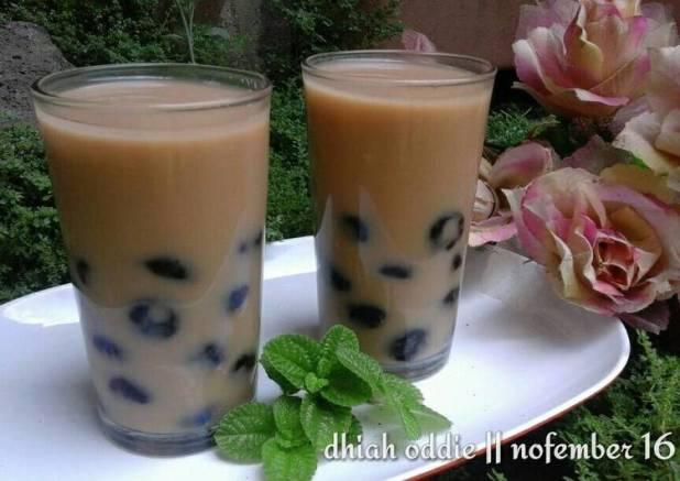 Es bubble milk tea