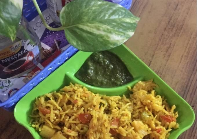 Step-by-Step Guide to Make Homemade Veg pulao