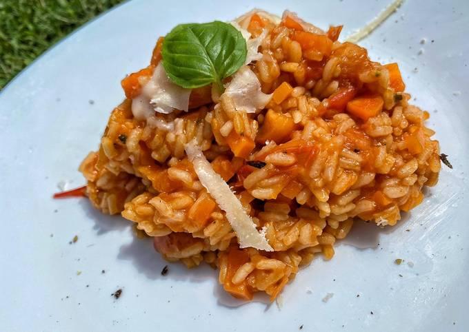 Der einfache Weg Um Preisgekrönte Tomaten-Karotten-Reis zuzubereiten